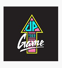Up your game - Flat version Photographic Print
