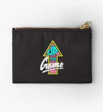 Up your game - Flat version Zipper Pouch