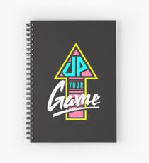 Up your game - Flat version Spiral Notebook
