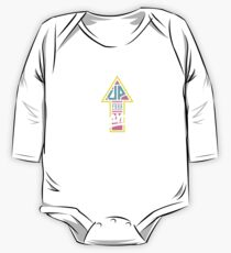 Up your game - Flat version Long Sleeve Baby One-Piece