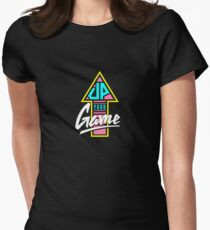 Up your game - Flat version Women's Fitted T-Shirt