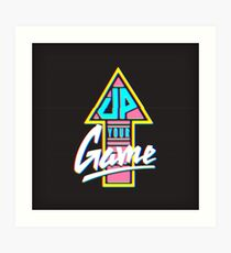 Up your game - TV version Art Print