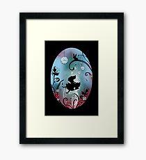 Alice in Wonderland - Rosebush Framed Print