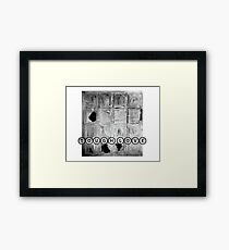 TOUGH LOVE - WINDOW Framed Print