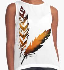 Feather Sleeveless Top