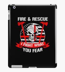 FIRE & RESCUE iPad Case/Skin