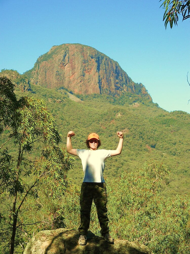 On top of the world....almost by Zamia