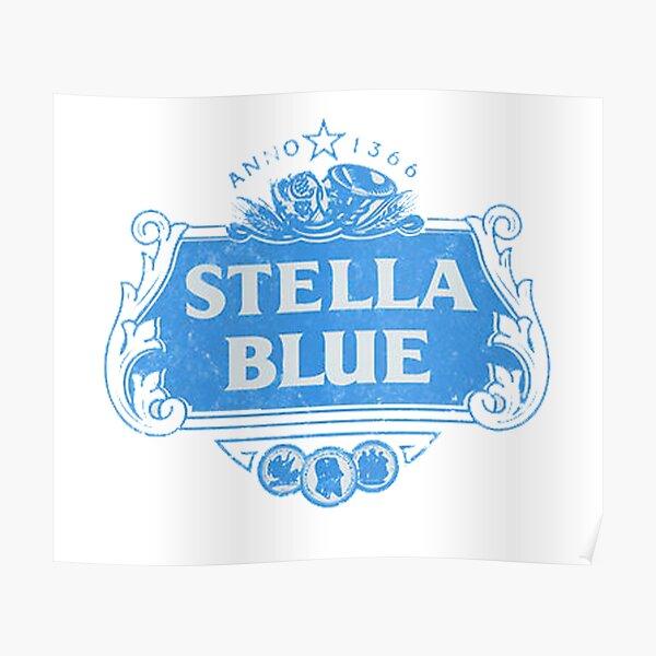 Stella Blue Poster