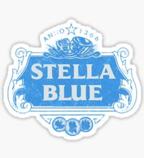 Stella Blue Sticker