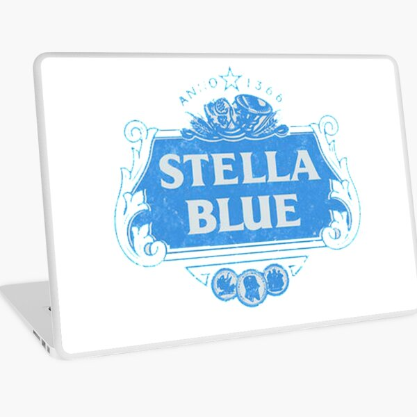 Stella Blue Laptop Skin
