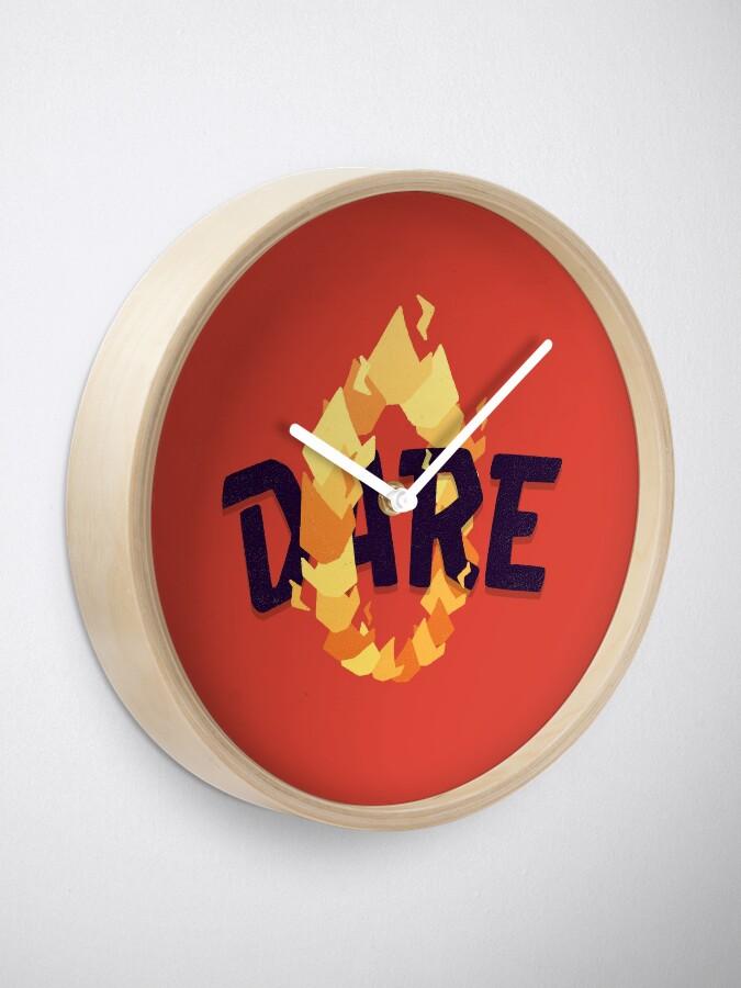 Alternate view of Dare Clock