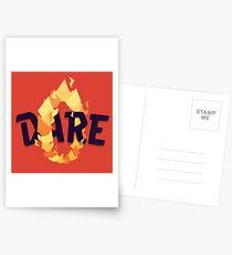 Dare Postcards