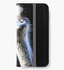 Ostrich Face With Goofy Expression iPhone Wallet/Case/Skin