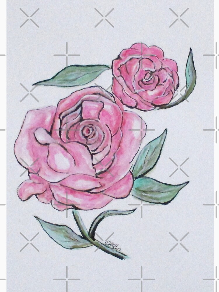 Pretty And Pink Roses by cjkell