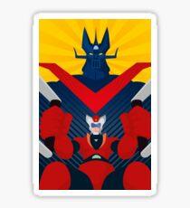 Great Mazinger - Graphic 3 Sticker