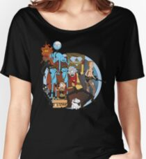 Rick and Morty Metal Gear Women's Relaxed Fit T-Shirt