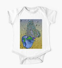 Raindrops - Madagascar Swallowtail Butterfly One Piece - Short Sleeve