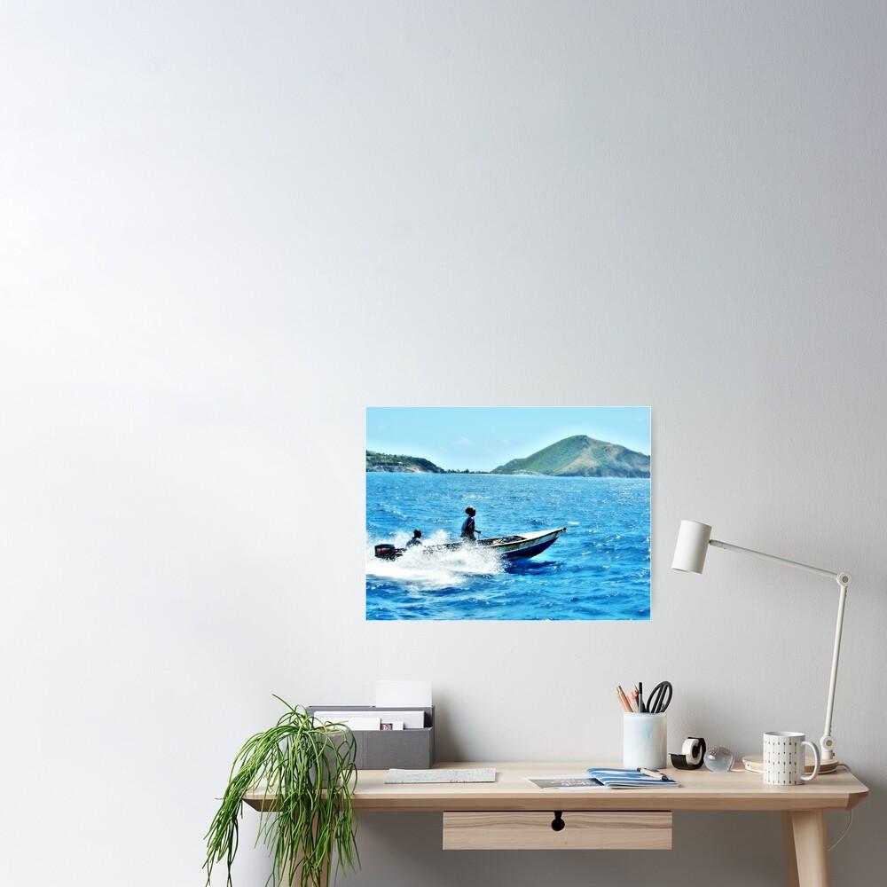 Indigo Seas Poster