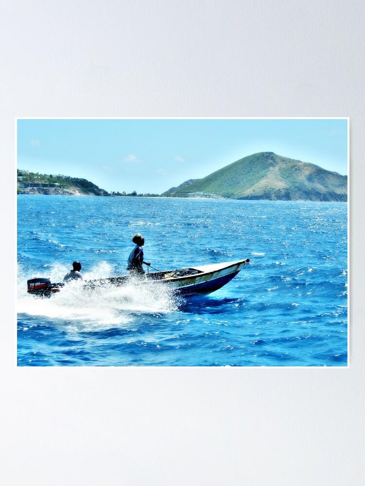 Alternate view of Indigo Seas Poster