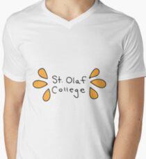St. Olaf College Men's V-Neck T-Shirt