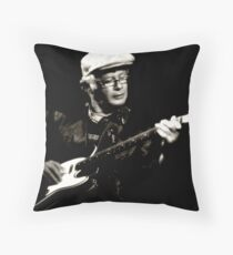 The Bluesman II Throw Pillow