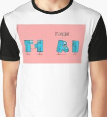 Kawaii tetris blocks family.  Graphic T-Shirt