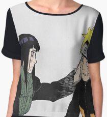 Hinata x Naruto Women's Chiffon Top