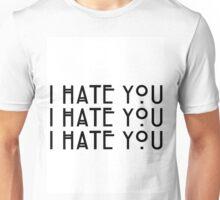 """I hate you!"" Dandy Mott Quote Unisex T-Shirt"