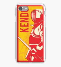 Japanese Kendo Sign #2 iPhone Case/Skin