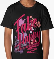 Fake Happy Long T-Shirt