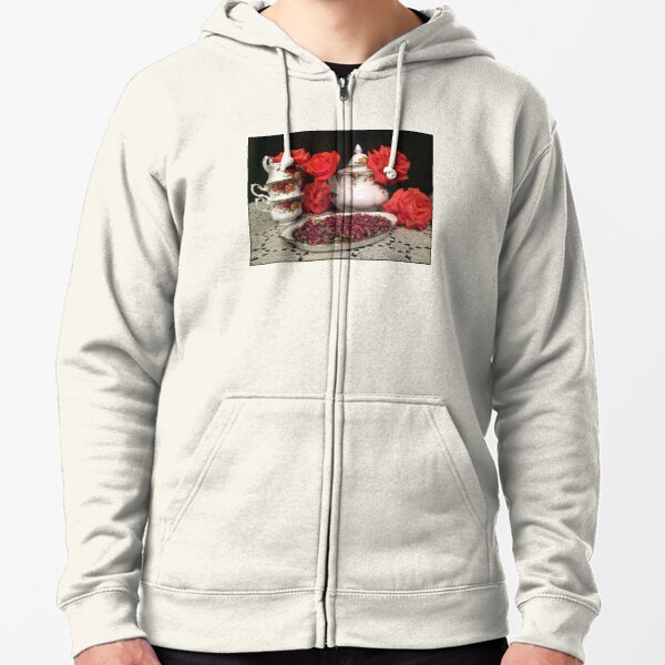 Old Country Roses Set Zipped Hoodie