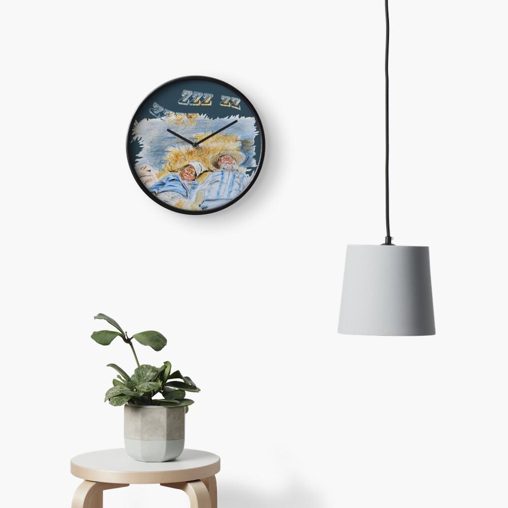 Ingedommeld Clock