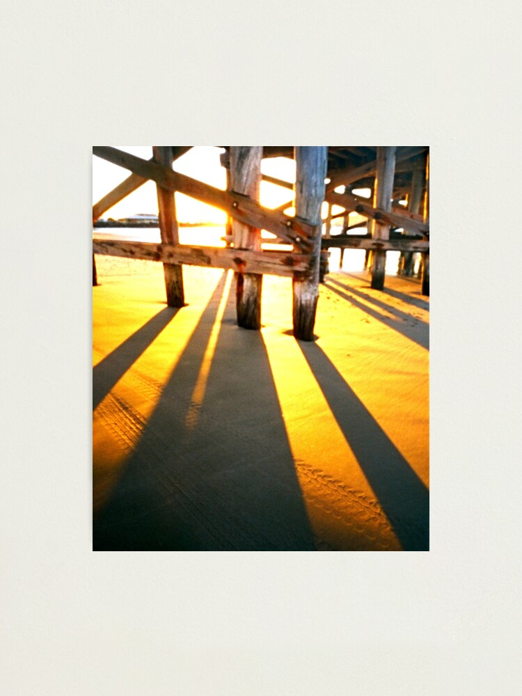Alternate view of WPPD 2008 - Coffs Harbour jetty at sunrise Photographic Print