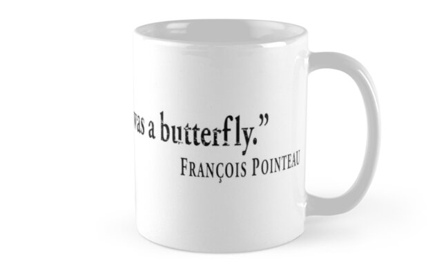Sometimes, I just wish I was a butterfly. by Francois Pointeau