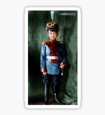 Colorized Tsarevitch Alexei 1913 Sticker