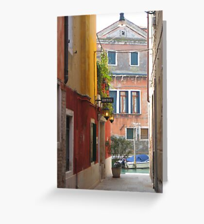 Luce Calda Greeting Card