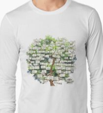 Ancestry Template Long Sleeve T-Shirt