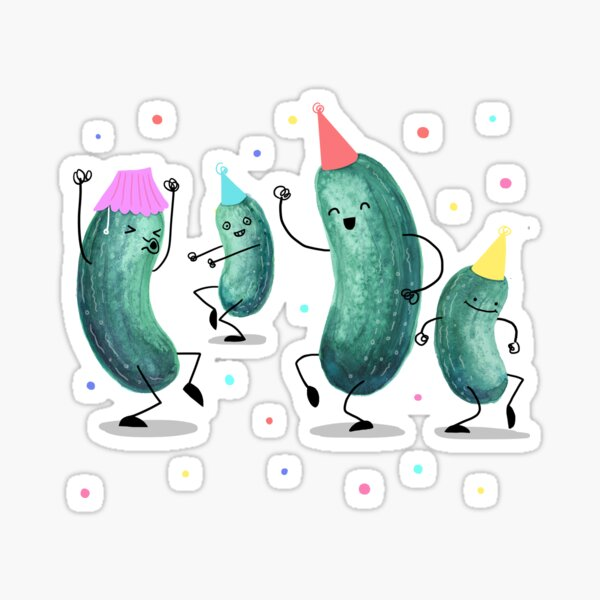 Pickle Party! Sticker