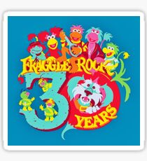 30 years Fraggle Rock Sticker