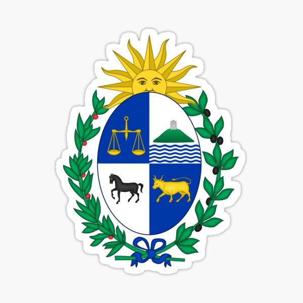 Escudo de armas de uruguay Pegatina
