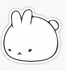 Cute Bunny Icon Sticker