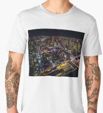 Melbourne Night Light Men's Premium T-Shirt