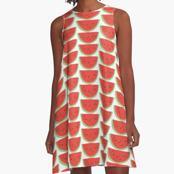watermelon  A-Line Dress