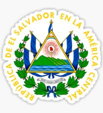 El Salvador coat of arms Sticker