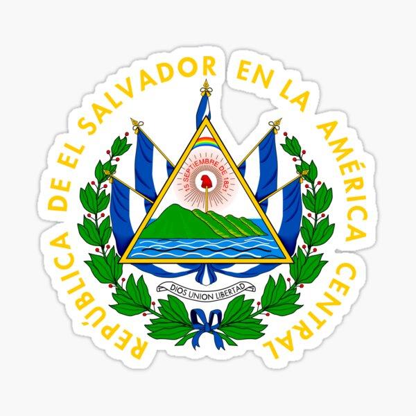 Escudo de armas de el salvador Pegatina