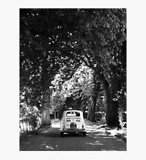 Cinquecento Fiat 500 BW Photographic Print