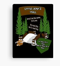 Little John's Toll Canvas Print