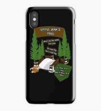 Little John's Toll iPhone Case/Skin