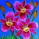 Day Lilies by maggie326