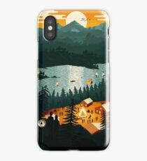 Cottage Country iPhone Case